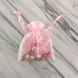 Tarina Tarantino Jewelry - Hello Kitty Pink Head - Lolita Necklace